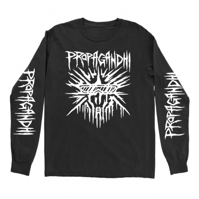 propagandhi - Buster Skull Long Sleeve (Black)
