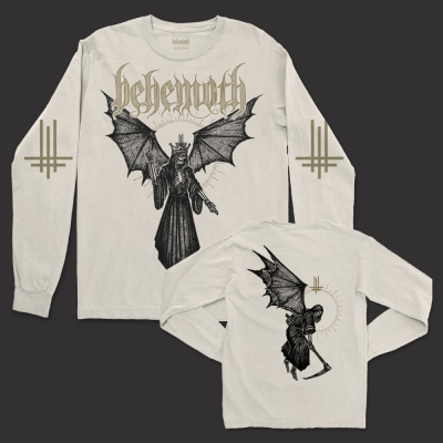 Angel Of Death Long Sleeve Shirt (Natural)