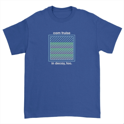 In Decay, Too Square T-Shirt (Blue)