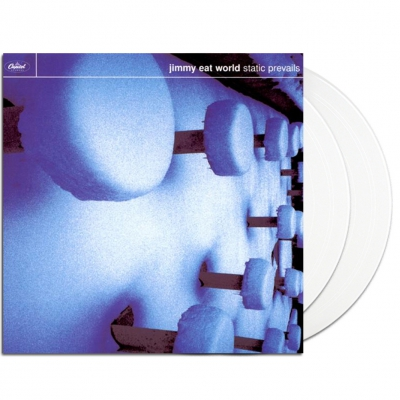 Static Prevails 2xLP (Opaque White)