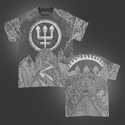 Trident Wolf Eclipse All Over Print T-Shirt