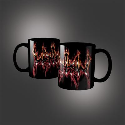 Fire Logo Coffee Mug (Black)