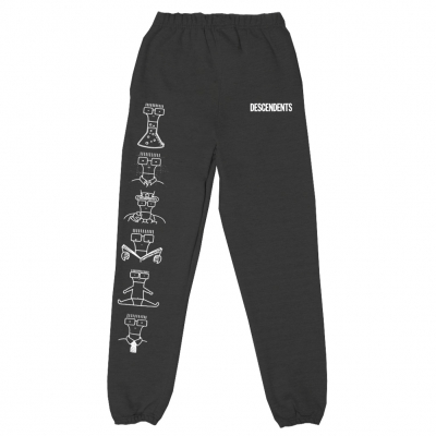Milo Illustration Sweatpants (Black)
