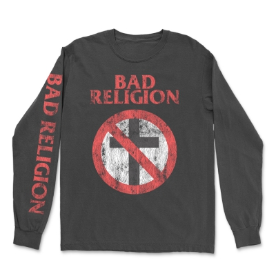 Vintage Crossbuster Long Sleeve (Black)