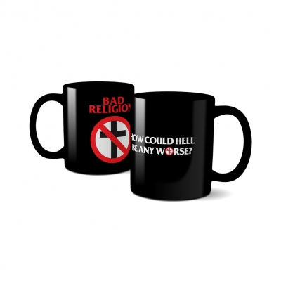 How Could Hell Crossbuster Coffee Mug (Black)