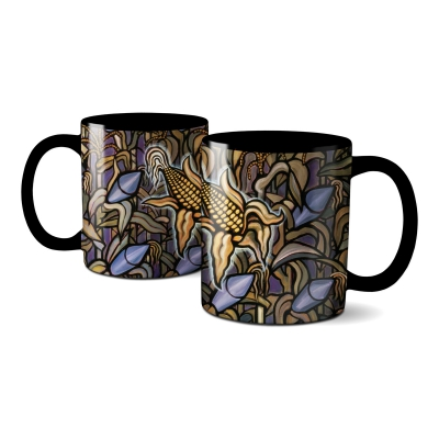Against The Grain Coffee Mug (Black)