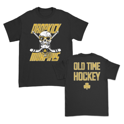 Slapshot Grunge Tee (Black) - Made in USA