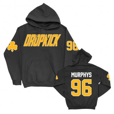 Slapshot Pullover Hoodie (Black) - Made in USA