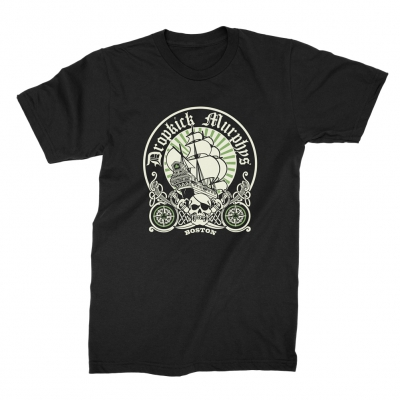 Boston Ship Circle Tee (Black)