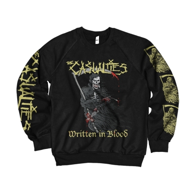 Written in Blood Crewneck (Black)