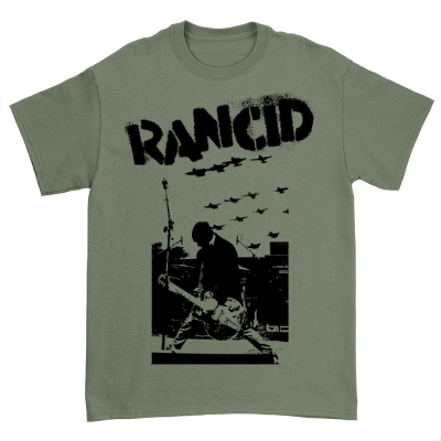 Planes T-Shirt (Military Green)