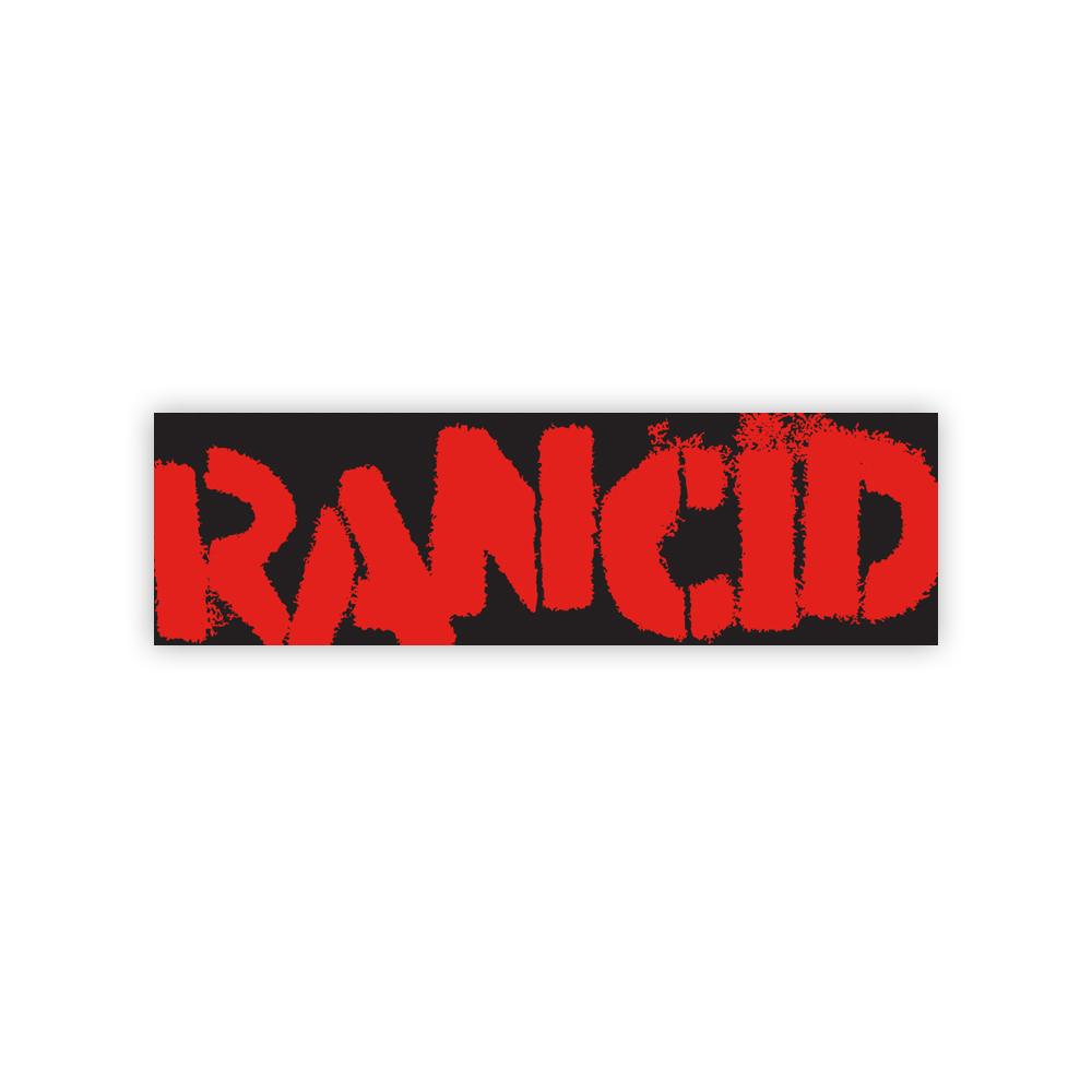 IMAGE | Logo Bumper Sticker (Red on Black)