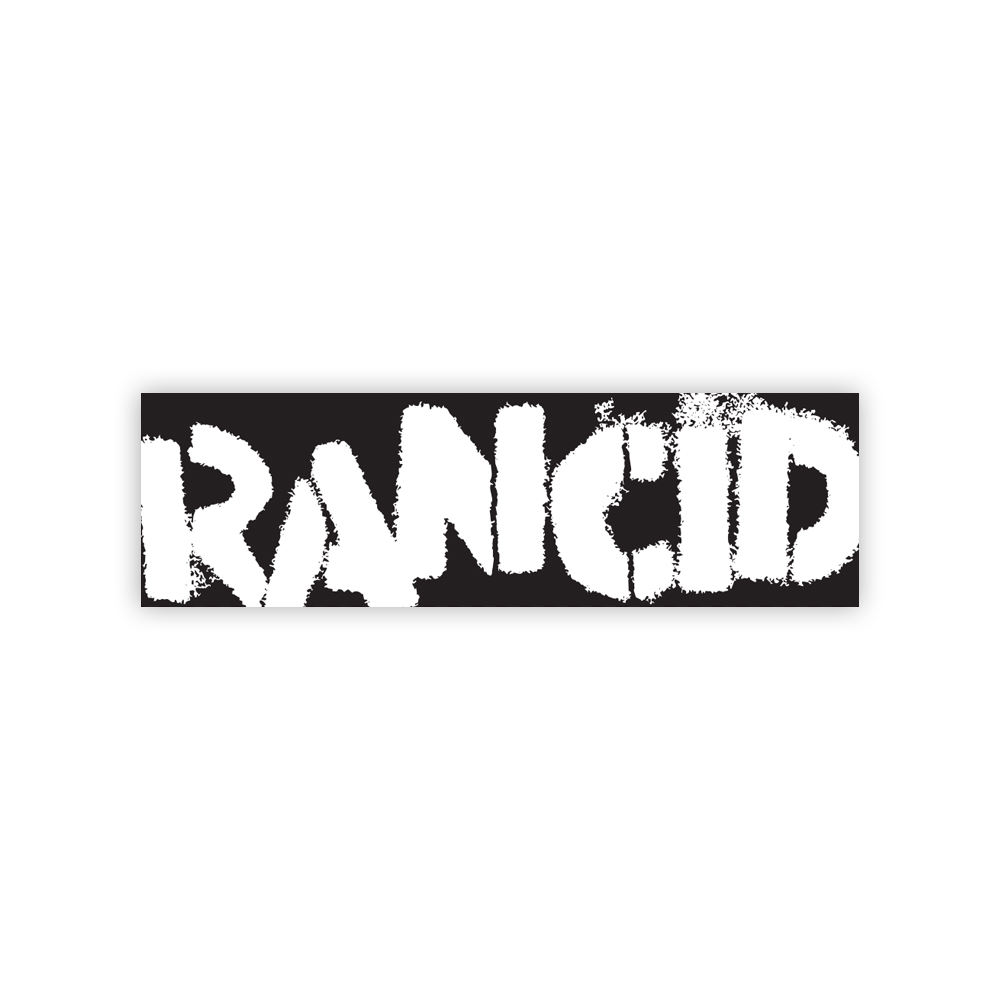 Logo Bumper Sticker (Black/White)