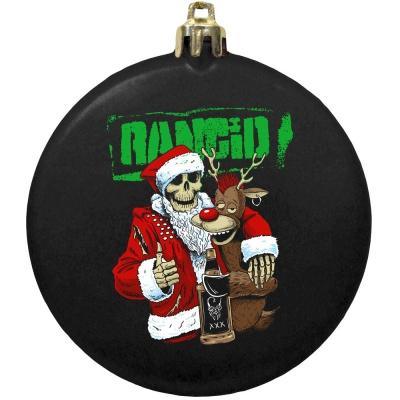Drunken Santa Ornament