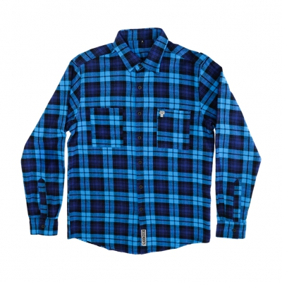 Descendents Milo Flannel (Blue/Black)