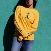 IMAGE | Barbed Wire Heart Long Sleeve (Gold) - detail 2