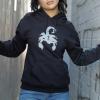 IMAGE | Scorpion Cross Pullover Hoodie (Black) - detail 2