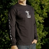 IMAGE | Barbed Wire Heart Long Sleeve (Black) - detail 2