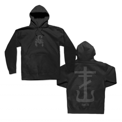 Scorpion Cross Pullover Hoodie (Black)