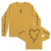 IMAGE | Barbed Wire Heart Long Sleeve (Gold) - detail 1