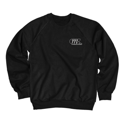 M Star Patch Crewneck (Black)