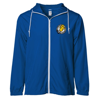 Bird Patch Windbreaker (Royal)