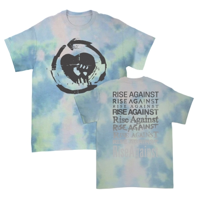 Rise Against Evolution HeartFist Dream Tee (Tie Dy