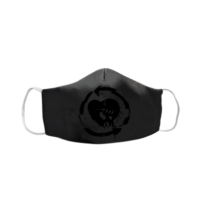 Evolution HeartFist Face Mask (Black/Black)