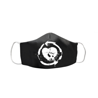 Evolution HeartFist Mask (Black/White)