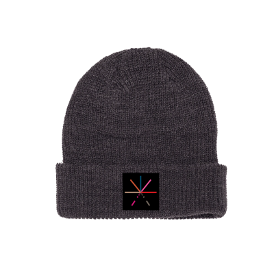 7 Color Asterisk Beanie