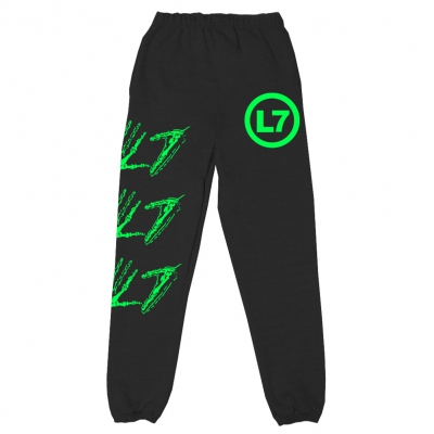 Skele Hands Sweat Pants (Black)
