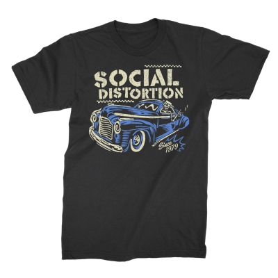 Vintage Ride T-Shirt (Black)
