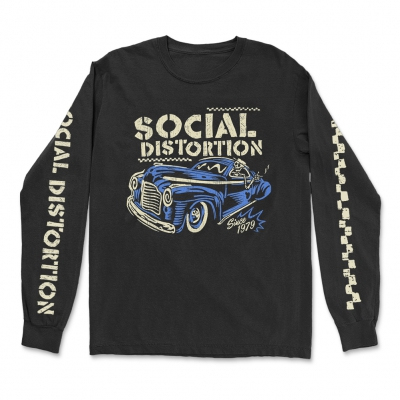 Vintage Ride Long Sleeve (Black)