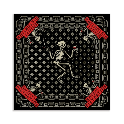 Skelly Chain Bandana