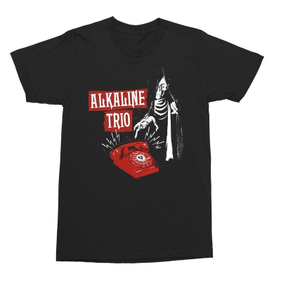 Alkaline Trio Call Me Tee (Black)