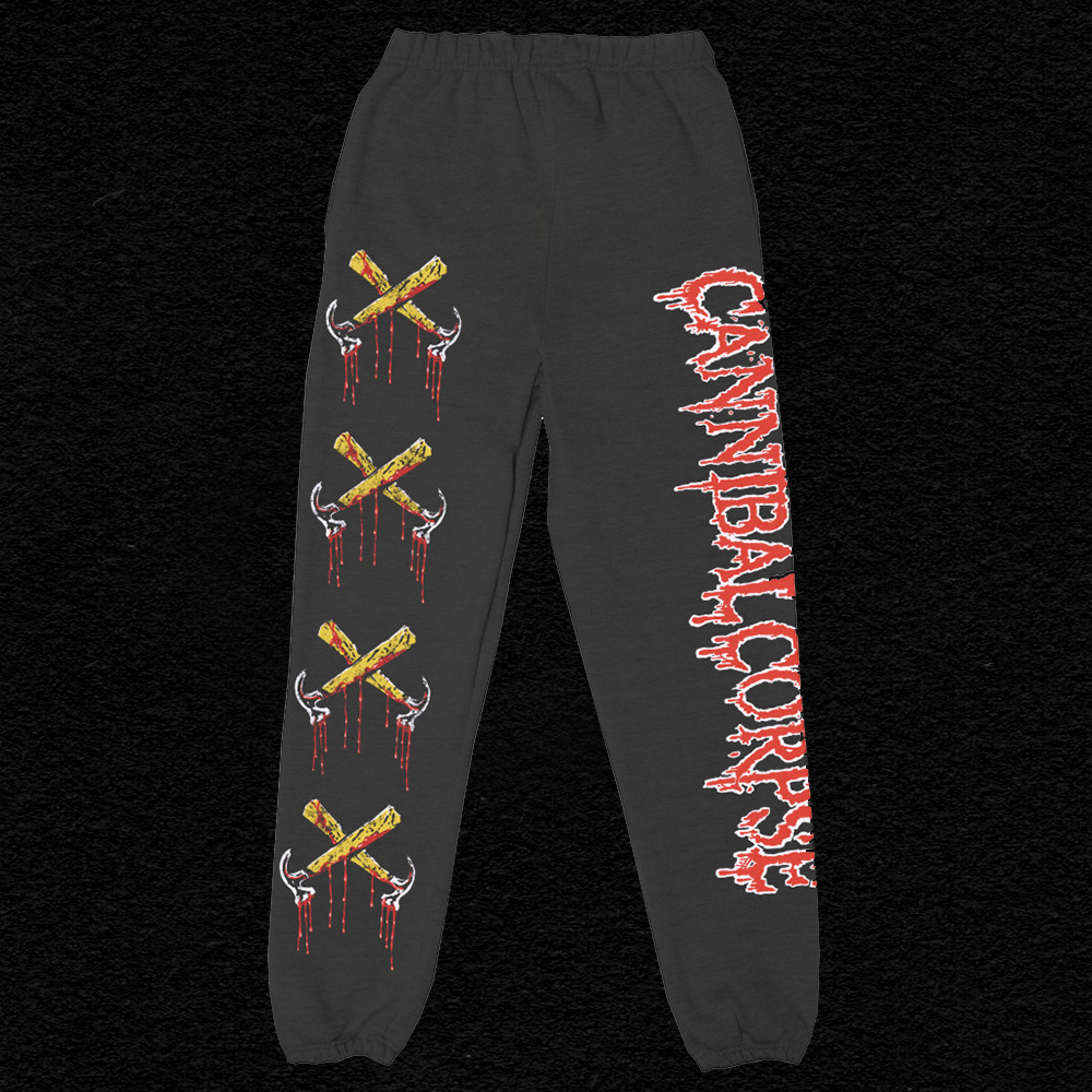 IMAGE | Bloody Hammers Sweatpants (Black)