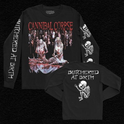 Butchered At Birth Long Sleeve (Black)