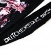 IMAGE | Butchered At Birth Long Sleeve (Black) - detail 5