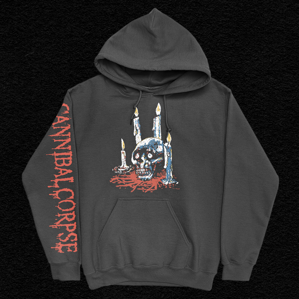 IMAGE | Ritual Candles Pullover Hoodie (Black)