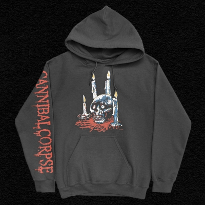 Ritual Candles Pullover Hoodie (Black)