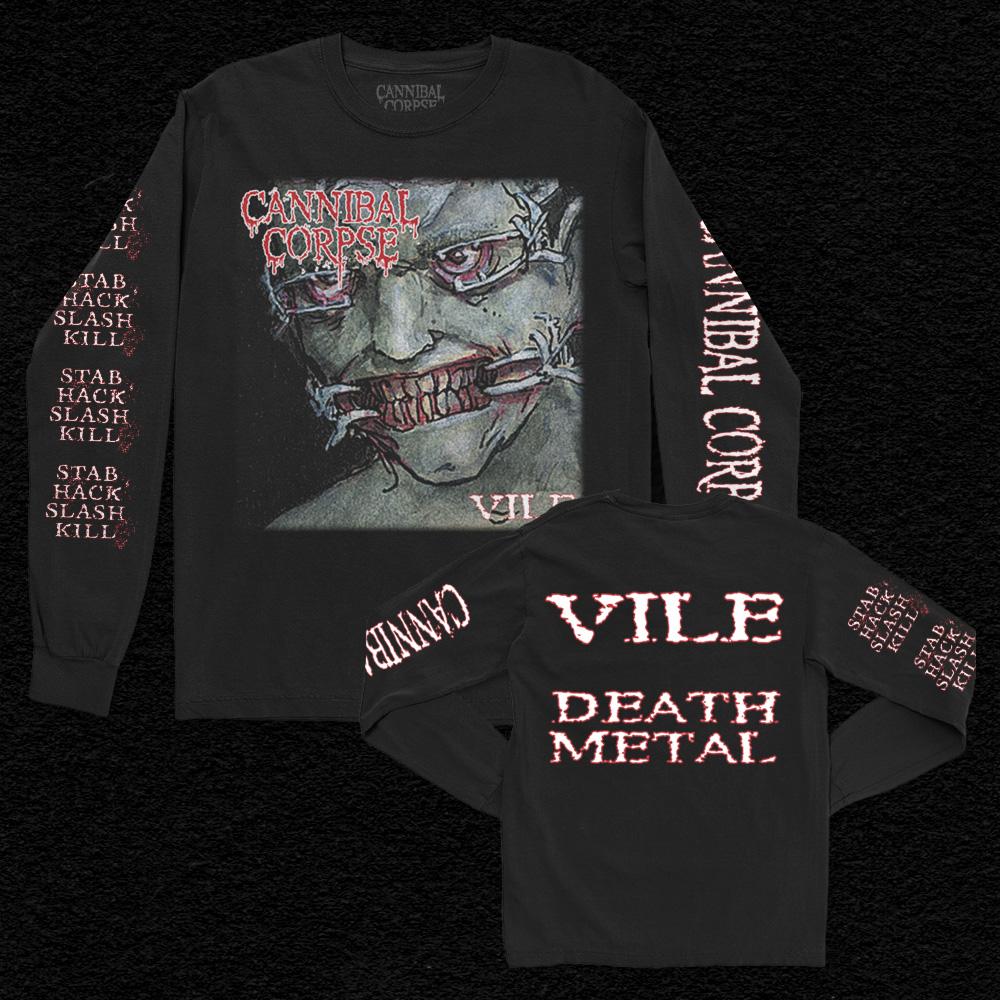 IMAGE | Vile Death Metal Long Sleeve (Black)