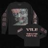 IMAGE | Vile Death Metal Long Sleeve (Black) - detail 1