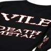 IMAGE | Vile Death Metal Long Sleeve (Black) - detail 3