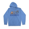 IMAGE | Ascent Of Man Pullover Hoodie (Blue) - detail 1