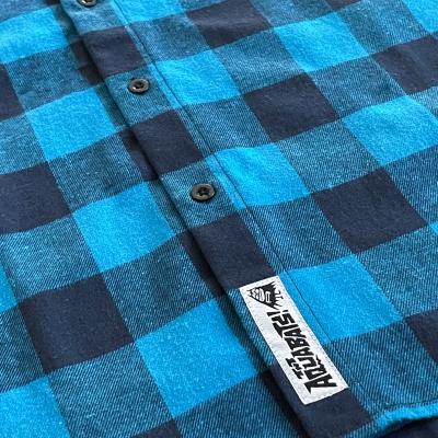 Bat Flannel (Blue)