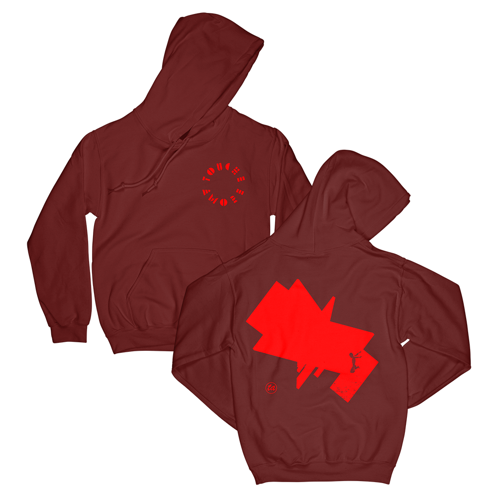 IMAGE   Feign Pullover Hoodie (Cardinal Red)
