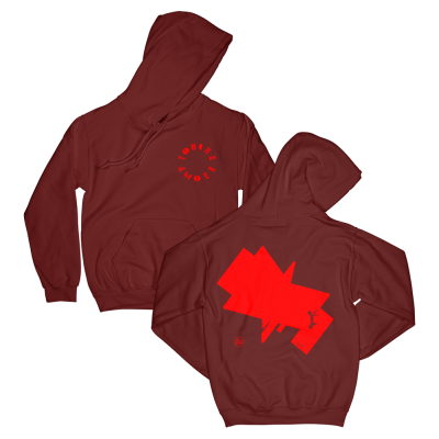 Feign Pullover Hoodie (Cardinal Red)