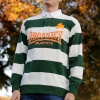 IMAGE | Rugby Jersey (White/Green) - detail 3