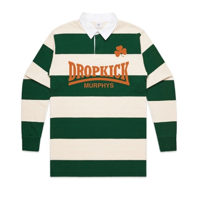 Rugby Jersey (White/Green)