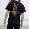 IMAGE   Say Your Prayers Inlay T-Shirt (Black) - detail 3
